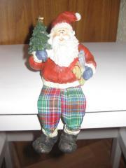 Weihnachtsmann-Kantenhocker
