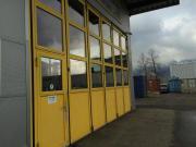 Werkstatthalle und Büro