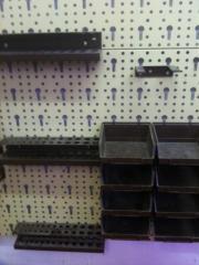 Werkzeuglochwand