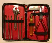 Werkzeugmappe mit unterschiedlichen