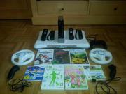 Wii mit Balanceboard &