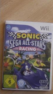 WII Spiel Sonic &