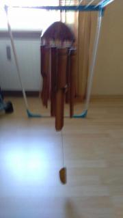 Windspiel aus Holz