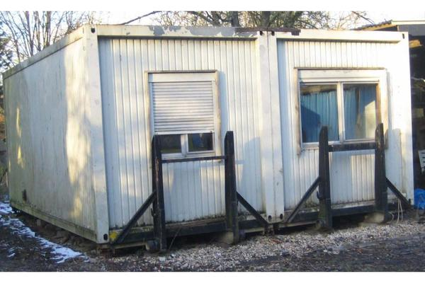 wohn b rocontainer als abrollcontainer in krefeld anh nger auflieger kaufen und verkaufen. Black Bedroom Furniture Sets. Home Design Ideas