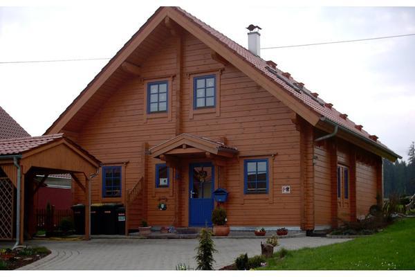 wohnblockhaus kanada blockhaus estland in wolfertschwenden alles m gliche gewerblich kaufen. Black Bedroom Furniture Sets. Home Design Ideas