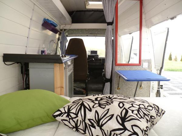 wohnmobil fiat ducato 280 neu modern wei blau grau. Black Bedroom Furniture Sets. Home Design Ideas