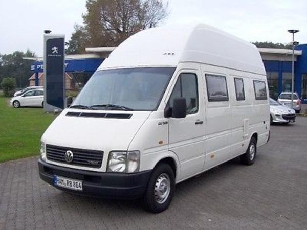 Wohnmobil Vw Lt35 Mit Vorzelt Markise Fahrradanh Nger