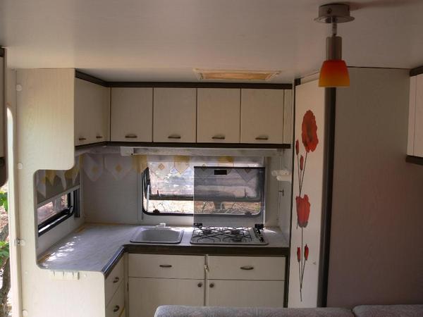 Wohnwagen Hobby 520 TQM - helle Innenausstattung in Edenkoben - kaufen und verkaufen über ...