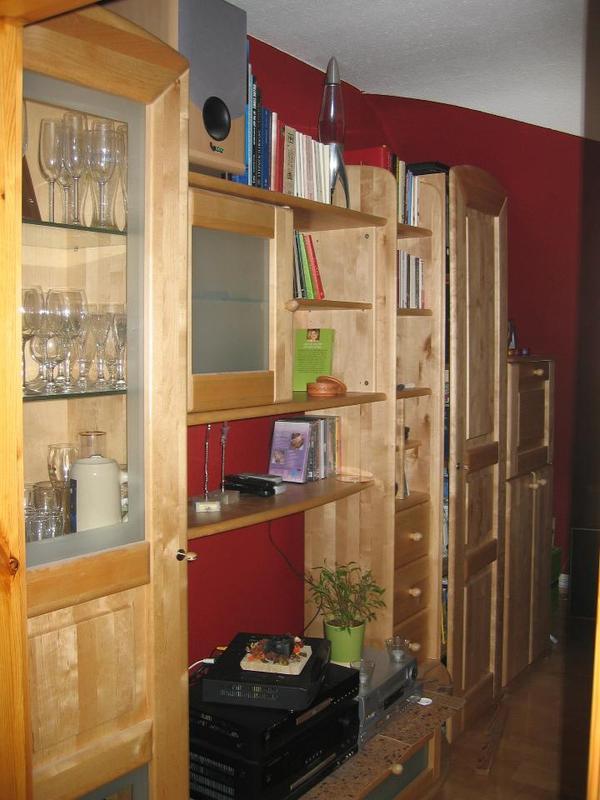 massiv wohnzimmerschrank neu und gebraucht kaufen bei. Black Bedroom Furniture Sets. Home Design Ideas