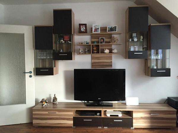 wohnwand led kaufen gebraucht und g nstig. Black Bedroom Furniture Sets. Home Design Ideas