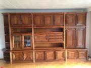 Wohnzimmer-Schrankwand, gebraucht
