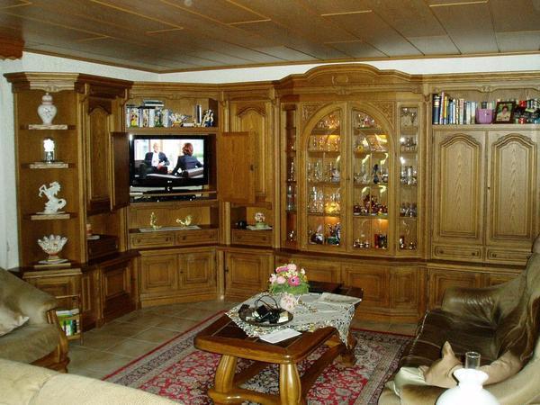 Esszimmer Drehstuhl Mit Armlehne  Esszimmer eiche massiv gebraucht