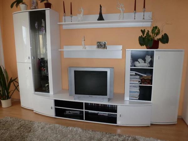 Wohnzimmer wand neu und gebraucht kaufen bei for Wohnzimmerschrank hochglanz