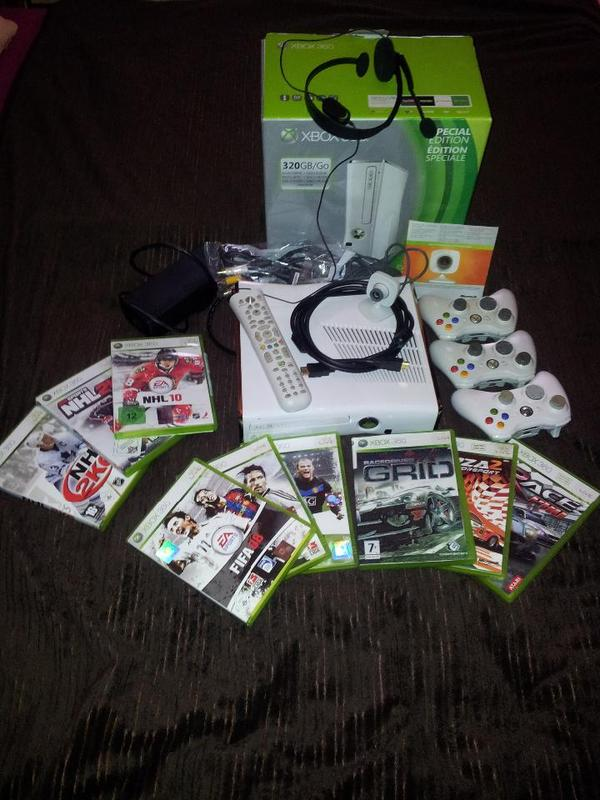 xbox 360 spezial edition in wei in mannheim x box. Black Bedroom Furniture Sets. Home Design Ideas