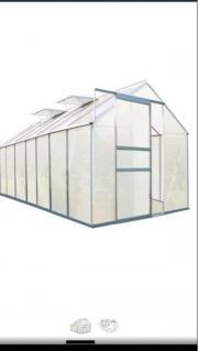 Zelsius Aluminium Gewächshaus