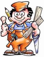Zuverlässiger professioneller Handwerker