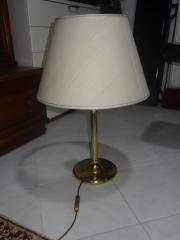 10 Tischlampen Messing