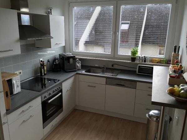 2-jahre-alte, neuwertige porta küche weiß, einbauküche in bonn