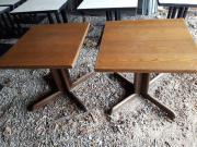 2 Tische / Holztische,
