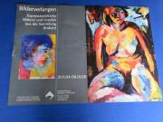 2 tolle Ausstellungs-Plakate