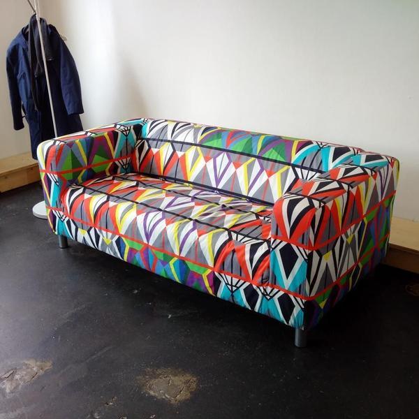 2er-sofa für arztpraxis, werbeagentur, kanzlei, architekturbüro in, Hause deko
