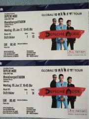 2x Depeche Mode