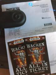 2x WACKEN Open