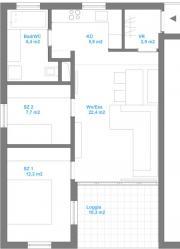3-Zimmerwohnung mit