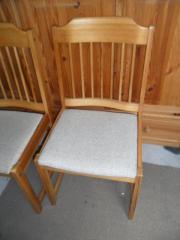 4 Esszimmerstühle Kiefer Mit Polster Gebraucht Kaufen Remseck