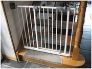 4 Treppenschutzgitter für
