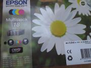 4x Epson Druckerpatronen