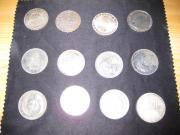 5 DM Münzen