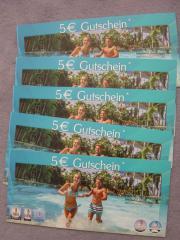 5 x Gutscheine