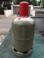 5kg Propangasflasche, grau,
