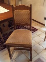 6 Stühle Eiche