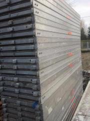 60 m² gebrauchtes Alu Gerüst