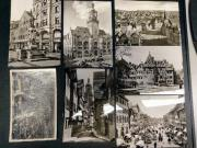 7 alte Fotopostkarten