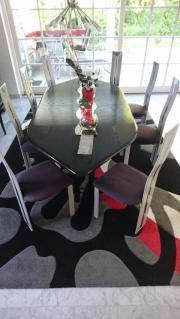 ... Designermöbel, Klassiker   8 Esszimmerstühle Völker Design Chrom Mit  Hoher Rückenlehne Super Verarbeitung