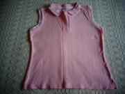 ärmelloses Poloshirt Shirt mit Polokragen