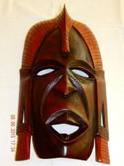Afrikanische Maske aus