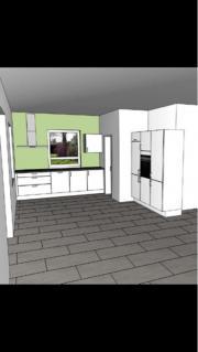 nobilia primo hochglanz k che schwarz in sch neck k chenm bel schr nke kaufen und verkaufen. Black Bedroom Furniture Sets. Home Design Ideas