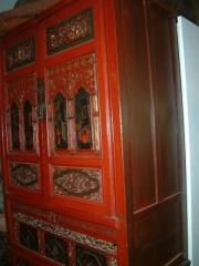 Alte chinesiche Palastmöbel hier ein