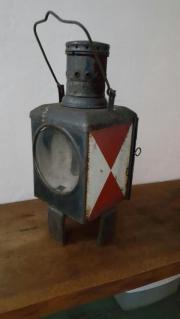 alte Eisenbahnerlampe