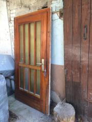 Alte Haustür aus