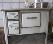 Alter Küchenherd mit