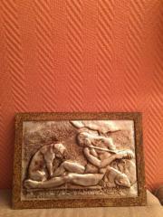 Altes Kupferbild auf