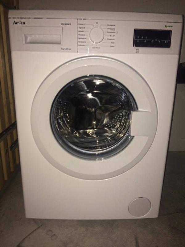 amica waschmaschine a nagelneu in m nchen. Black Bedroom Furniture Sets. Home Design Ideas