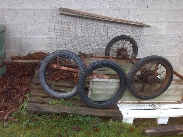 Anhänger » Traktoren, Landwirtschaftliche Fahrzeuge