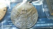Anhänger-Gedenkmedallie Bronze,