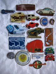Anstecknadeln - Pins - Porsche - Ford - BMW - Fiat